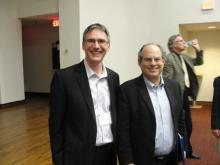Dr. Bryan Cuevas and Dr. Matthew Kapstein